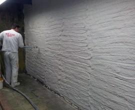 Spuitwerk muur – 2